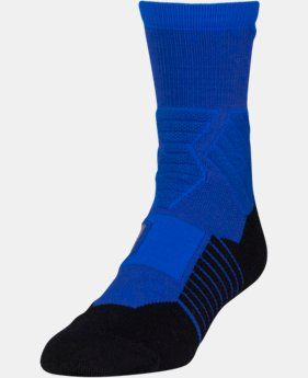 Men's UA Basketball Drive Mid Socks  2 Colors $14.99