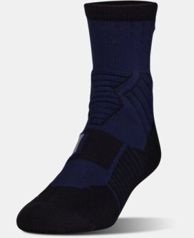 Men's UA Basketball Drive Mid Socks LIMITED TIME: FREE U.S. SHIPPING 2 Colors $14.99