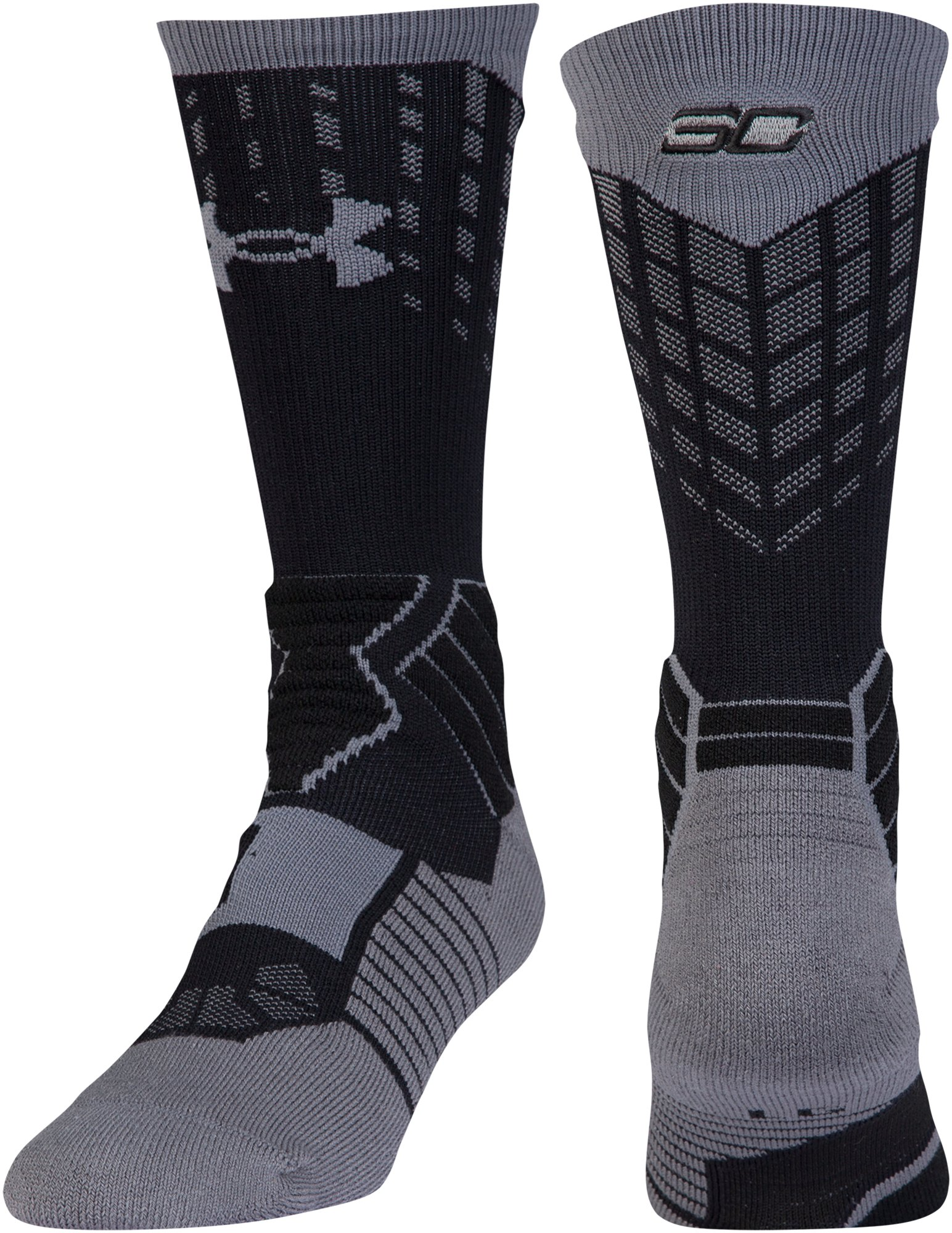 Boys' SC30 Drive Crew Sock, Black