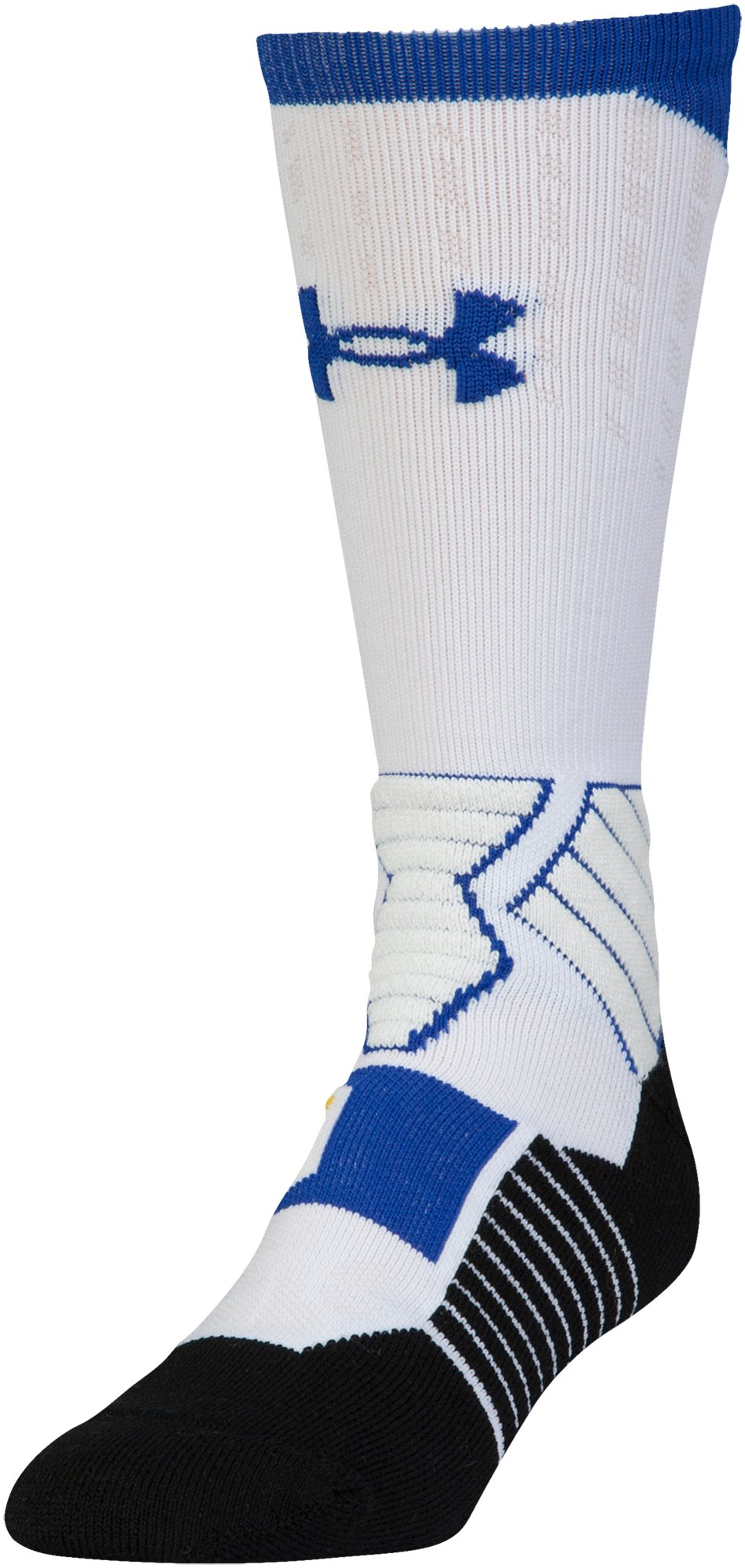 Boys' SC30 Drive Crew Sock, White, undefined