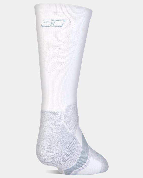Boys' SC30 Drive Crew Sock, White, pdpMainDesktop image number 0