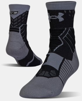 Men's UA Drive SC30 Mid Basketball Socks  1 Color $20.99