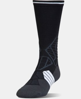 Men's UA Highlight Football Crew Socks  1 Color $17.99