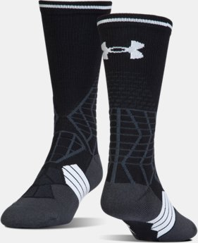 Men's UA Highlight Football Crew Socks  4 Colors $18