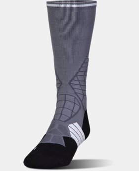New Arrival Men's UA Highlight Football Crew Socks  2 Colors $17.99