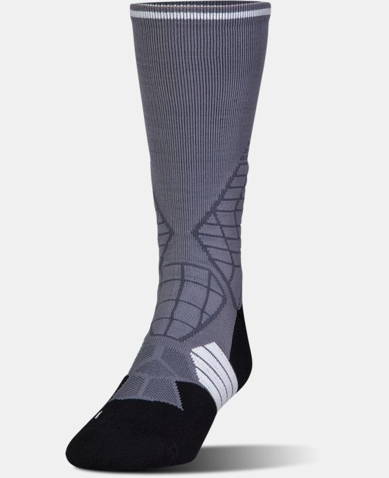 Men's UA Highlight Football Crew Socks  2 Colors $17.99