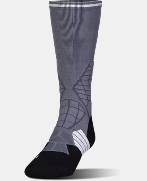 Men's UA Highlight Football Crew Socks LIMITED TIME: FREE U.S. SHIPPING 1 Color $17.99