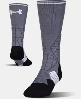 Men's UA Highlight Football Crew Socks  4  Colors Available $18