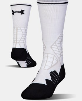 Men's UA Highlight Football Crew Socks  2 Colors $18