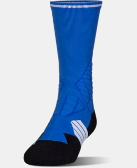 New Arrival Men's UA Highlight Football Crew Socks  1 Color $17.99