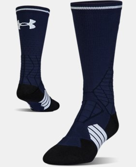 Men's UA Highlight Football Crew Socks  1  Color Available $18