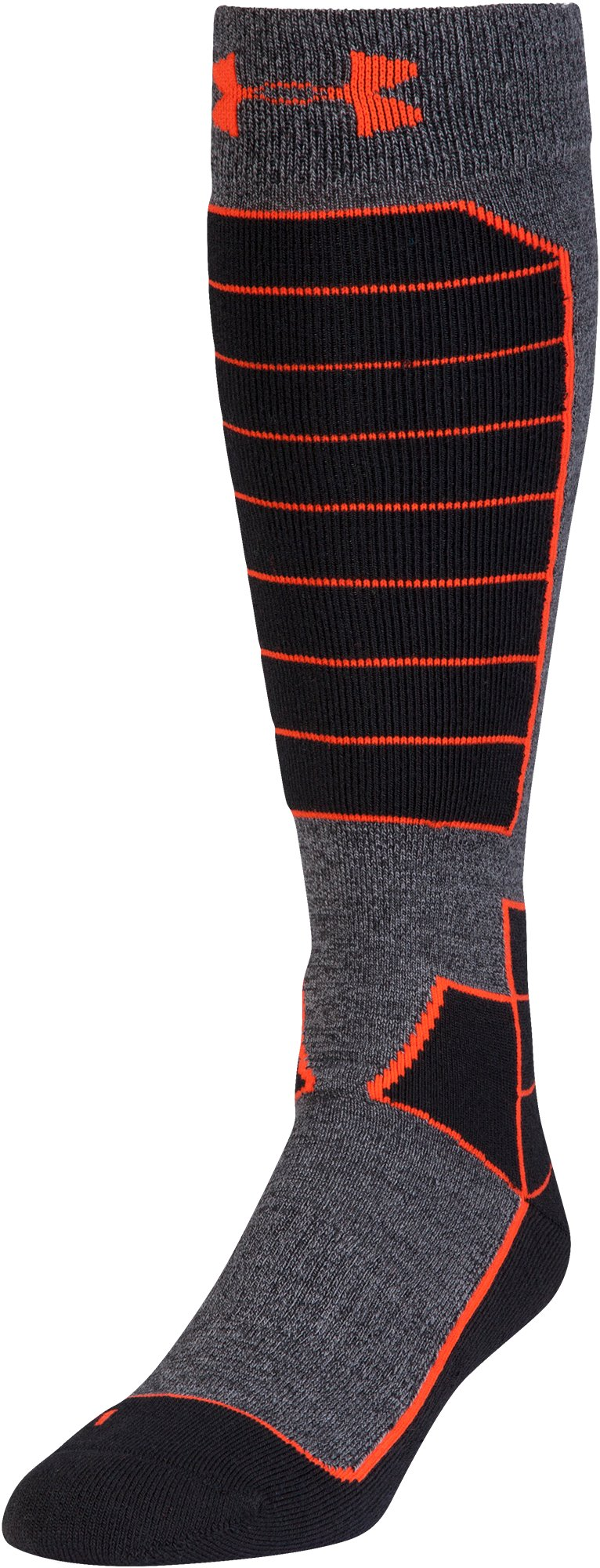 Men's UA Mountain Performance Over-The-Calf Socks, Black , undefined
