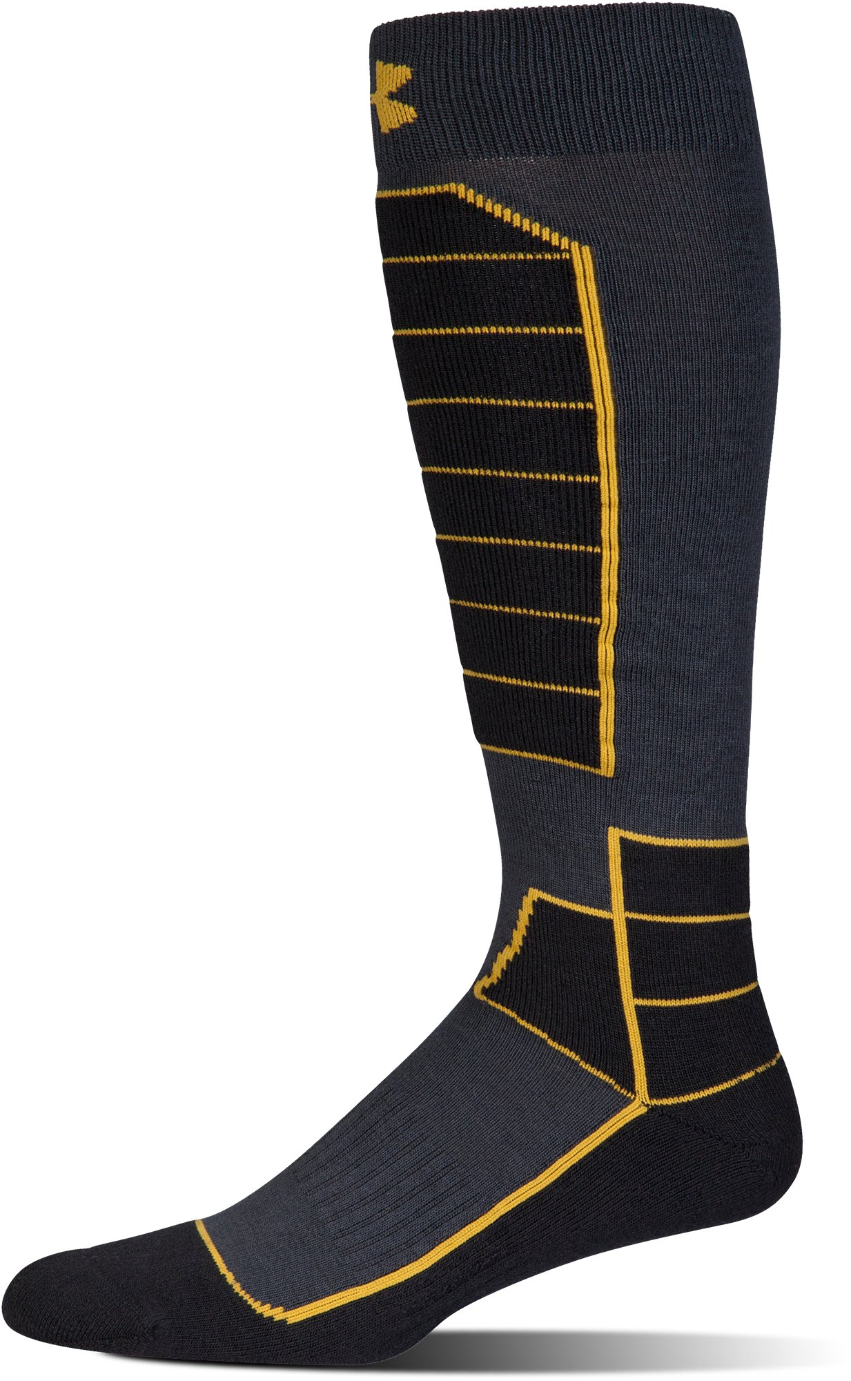 Men's UA Mountain Performance Over-The-Calf Socks, ANTHRACITE