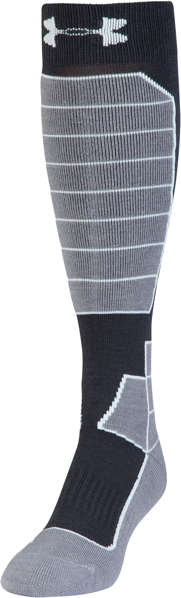 Women's UA Mountain Performance Over-The-Calf Socks, ANTHRACITE