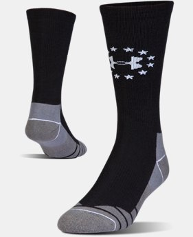Men's UA Hitch Lite Freedom Boot Socks  1  Color Available $16