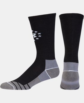 Men's UA Hitch Lite Freedom Boot Socks  1 Color $15.99 to $16