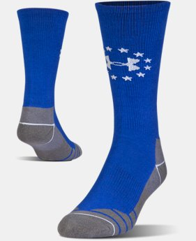 Men's UA Hitch Lite Freedom Boot Socks  2 Colors $15.99 to $16