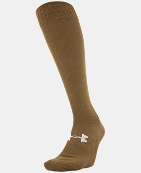 Best Seller Men's UA Tactical HeatGear® Over-The-Calf Socks  1 Color $10
