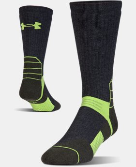 Men's UA Scent Control Boot Socks  2 Colors $25