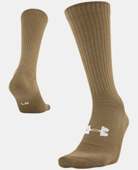 Men's UA HeatGear® Tactical Boot Socks  1 Color $9.99
