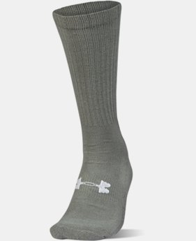 Men's UA HeatGear® Tactical Boot Socks  1 Color $9.99 to $10