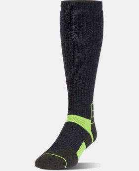 New Arrival Men's UA Armour Scent Control Over-The-Calf Socks   2 Colors $27.99