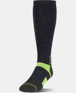 Men's UA Armour Scent Control Over-The-Calf Socks   2 Colors $27.99