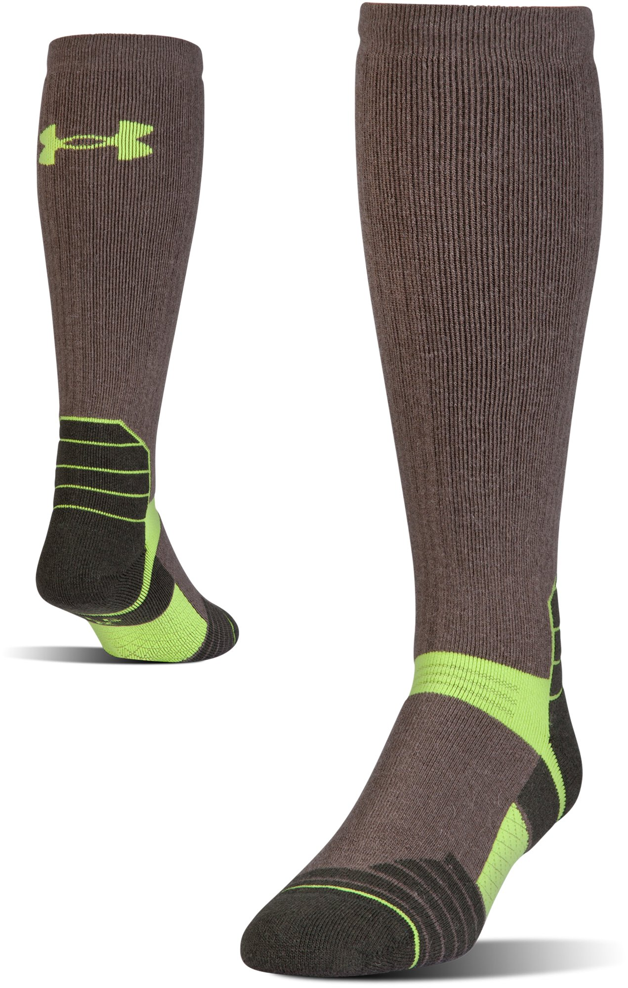 Men's UA Armour Scent Control Over-The-Calf Socks, Hearthstone
