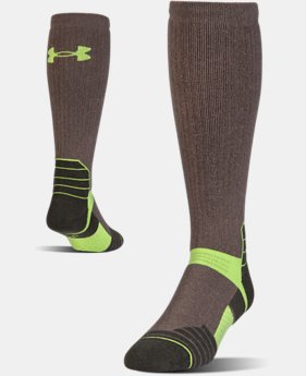 Men's UA Armour Scent Control Over-The-Calf Socks  1 Color $27.99