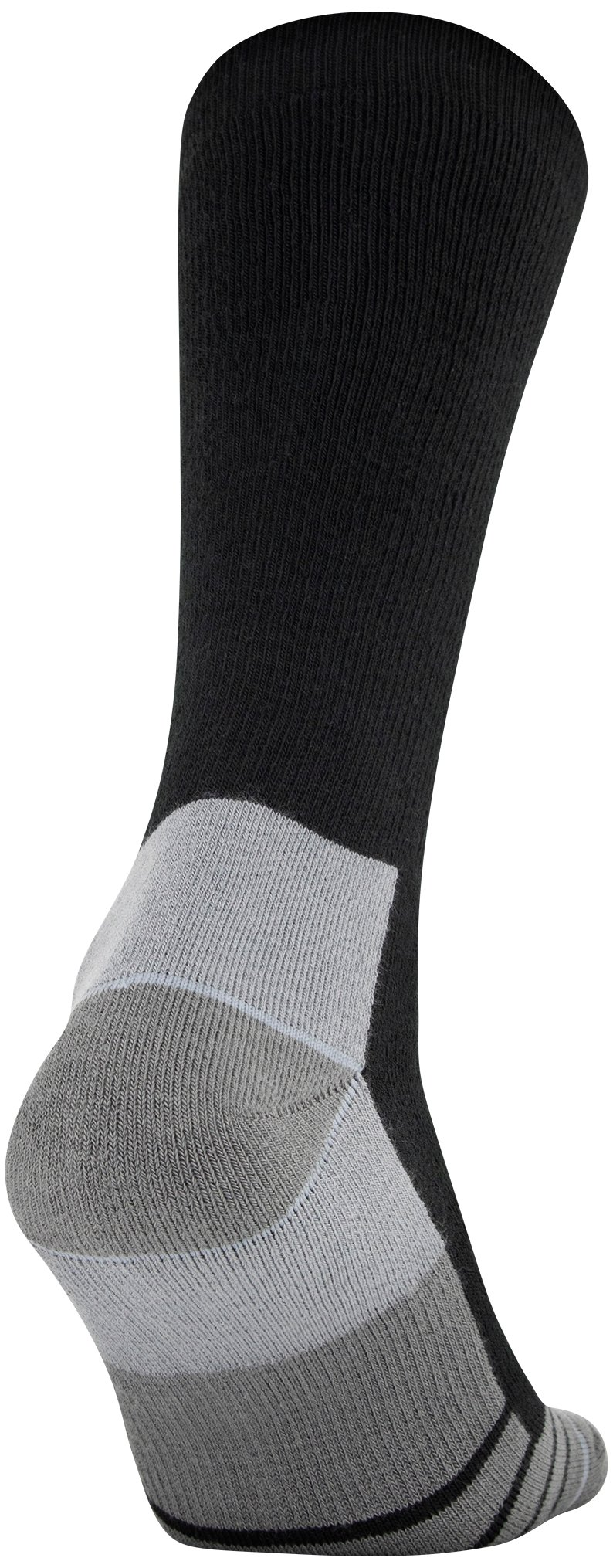 Men's UA Hitch Heavy 3.0 Boot Socks, Black , undefined