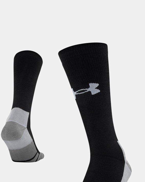 Men's UA Hitch Heavy 3.0 Boot Socks, Black, pdpMainDesktop image number 4