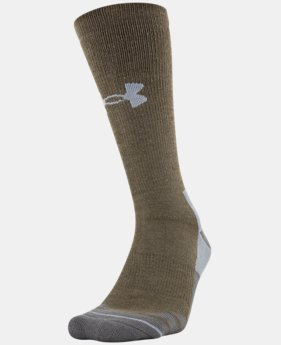 New Arrival Men's UA Hitch Heavy 3.0 Boot Sock  1 Color $16.99