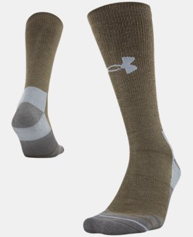 Men's UA Hitch Heavy 3.0 Boot Socks  2  Colors Available $17