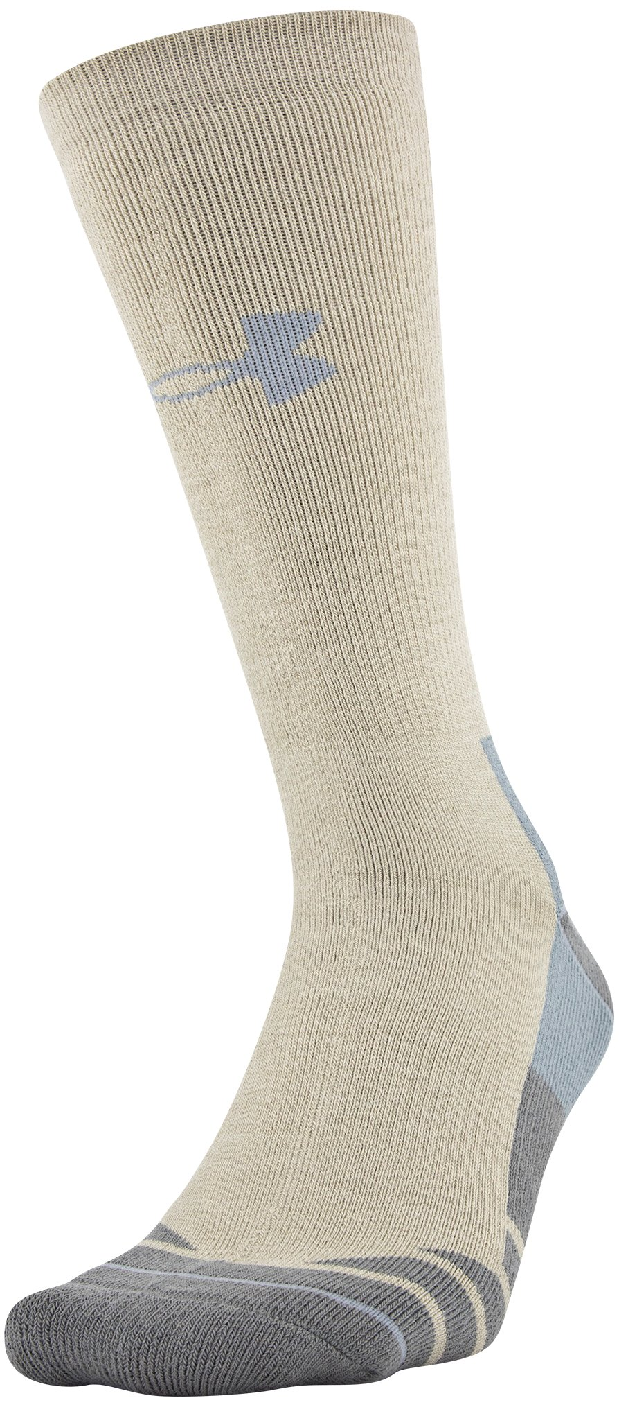 Men's UA Hitch Heavy 3.0 Boot Socks, Desert Sand