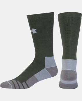 Men's UA Hitch Heavy 3.0 Boot Socks  4 Colors $19.99