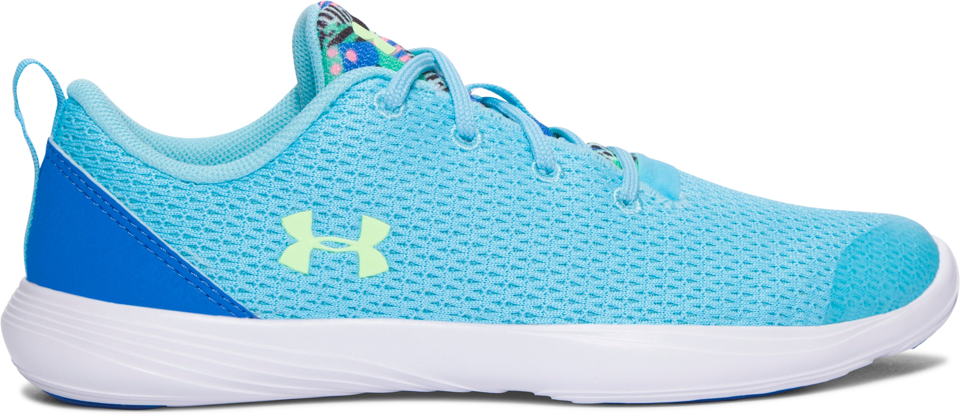 Girls' Pre-School UA Street Precision Sport Shoes, Venetian Blue