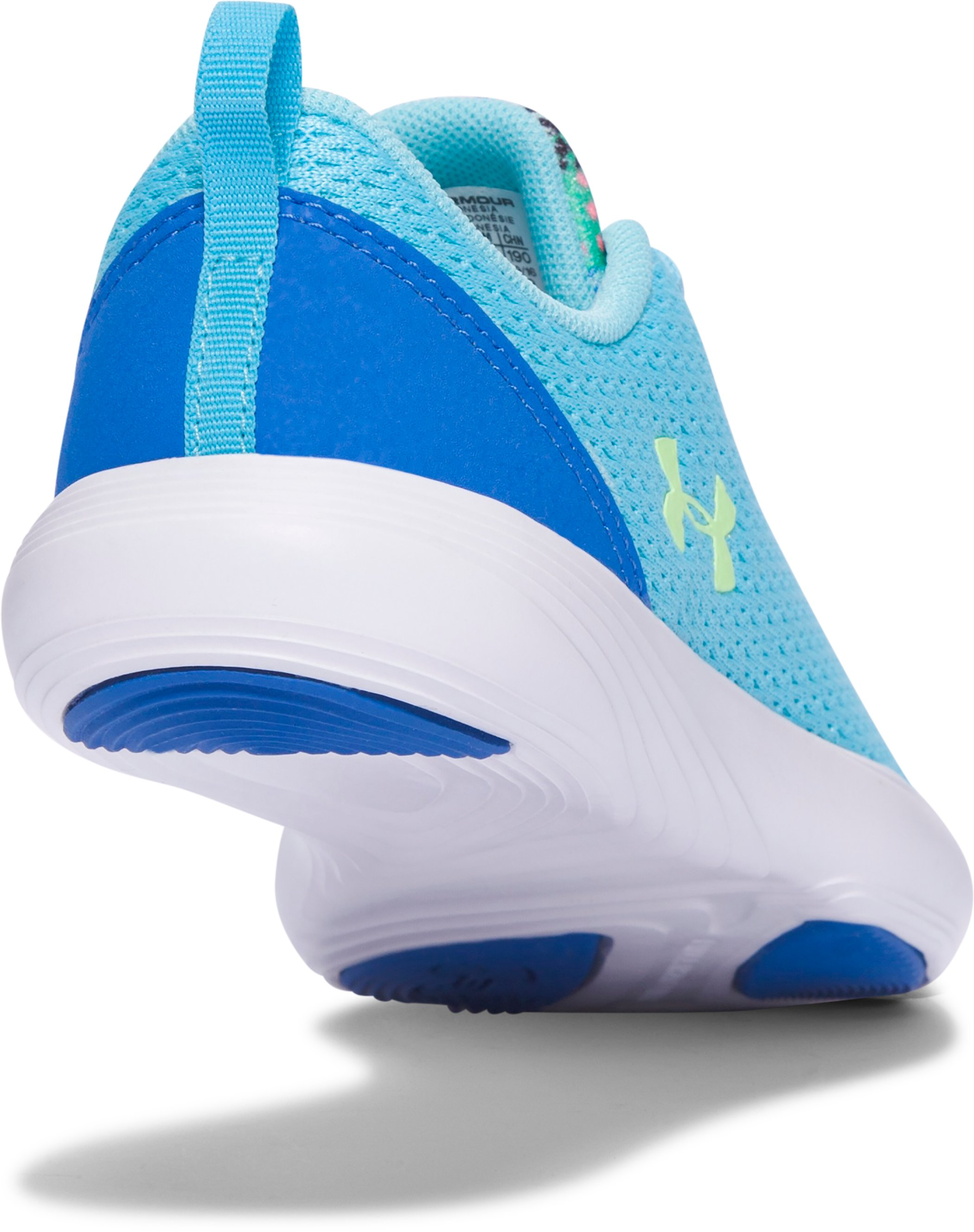 Girls' Pre-School UA Street Precision Sport Shoes, Venetian Blue,