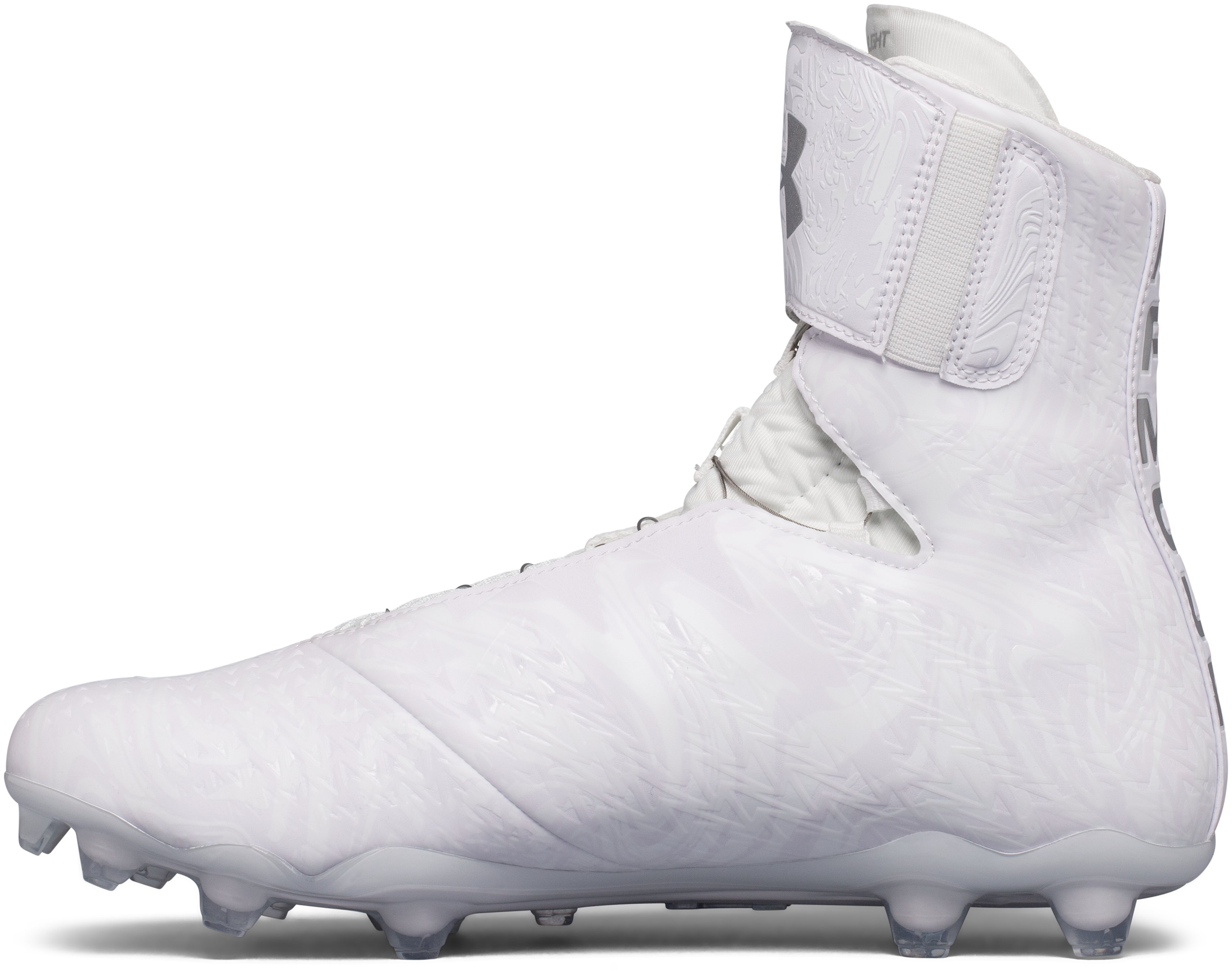 Men's UA Highlight MC 2.0 BOA™ Football Cleat, White,