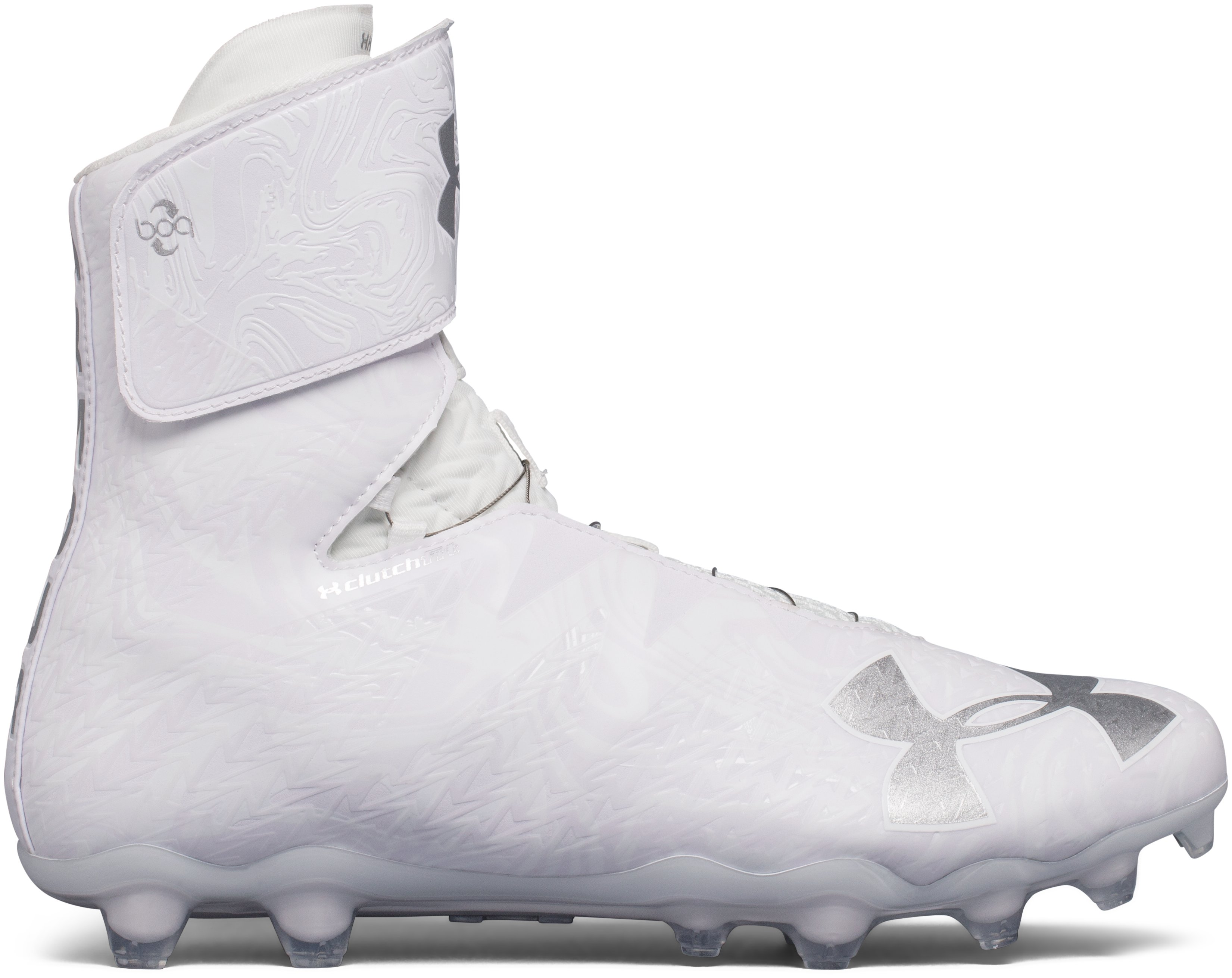 Men's UA Highlight MC 2.0 BOA™ Football Cleat, White
