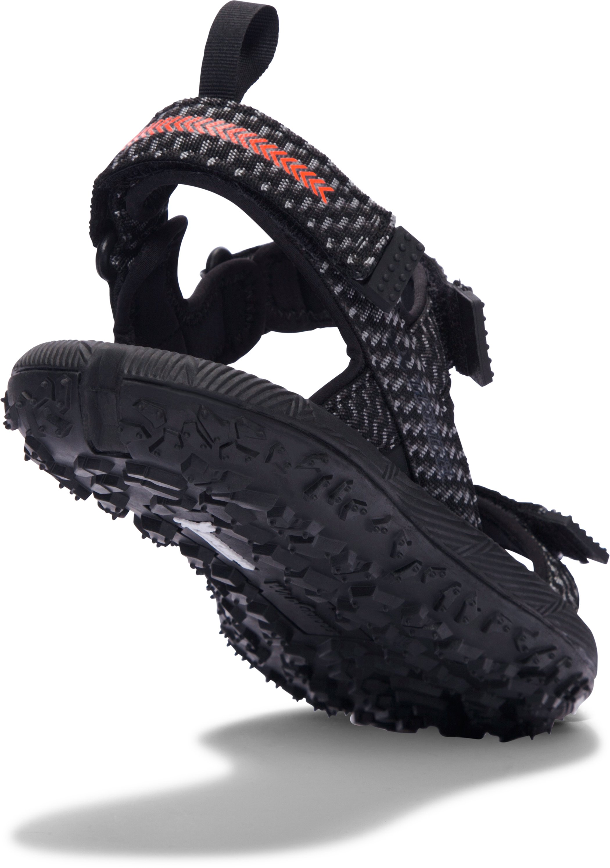 Men's UA Fat Tire Sandals, Black , undefined
