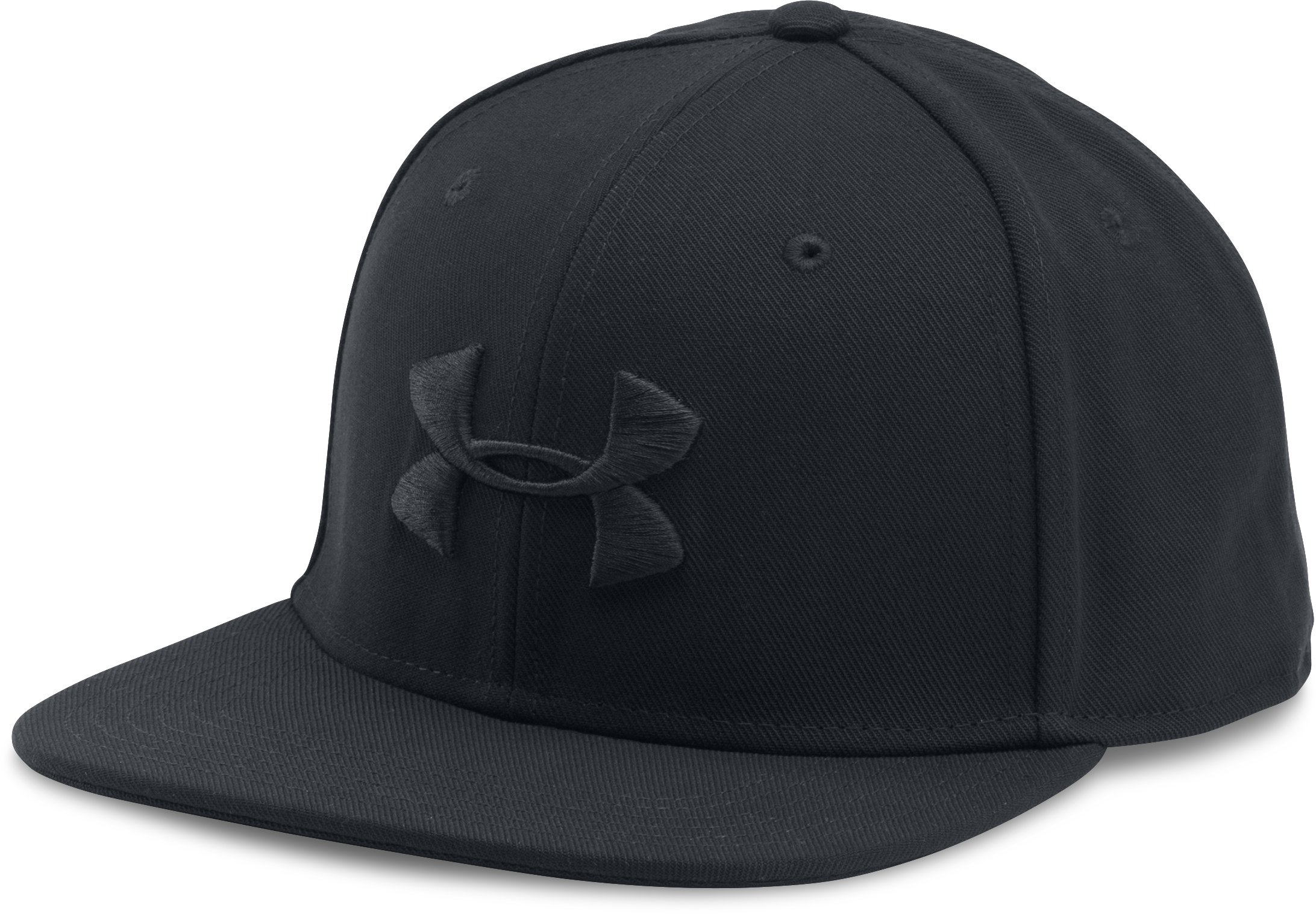black snapback caps Men's UA Huddle Snapback Cap Colors matches good with black logo...Nice and comfortable....Love Snapbacks