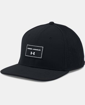 Men's UA SuperVent Flat Brim Cap  1 Color $34.99