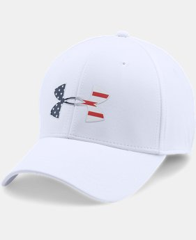 Men's UA Freedom Low Crown Stretch Fit Cap  4  Colors Available $29.99