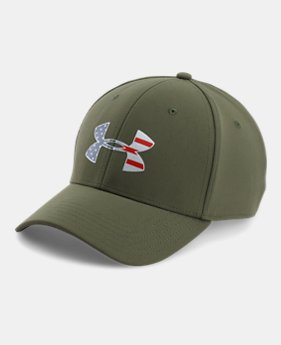 Men s UA Freedom Low Crown Stretch Fit Cap 2 Colors Available  29.99. 2  Colors Available. Marine OD Green  White 9ce00ef7c41