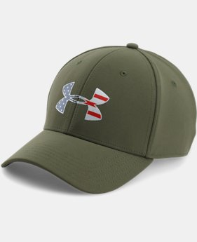 Men's UA Freedom Low Crown Strech Fit Cap  3 Colors $29.99