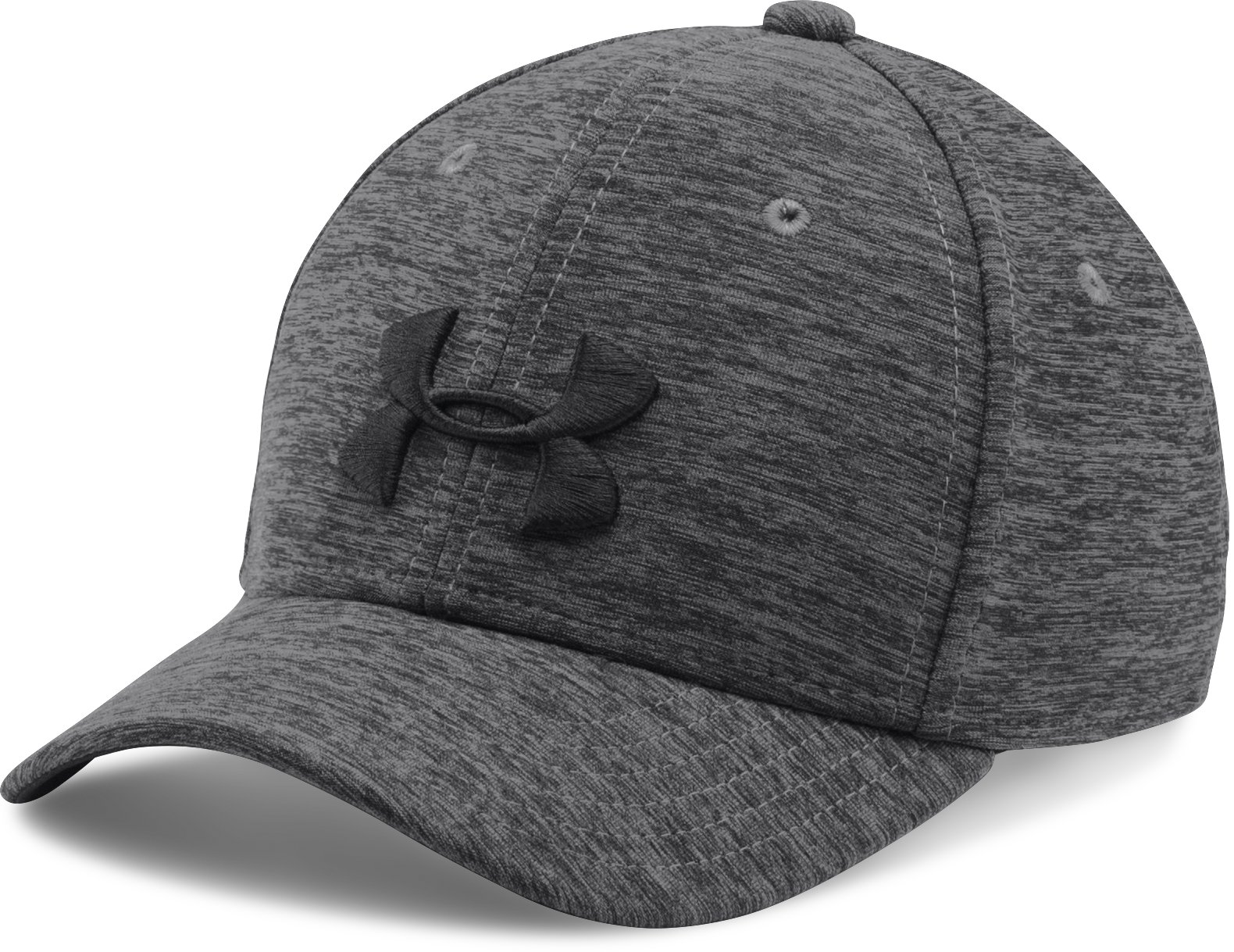 Boys' UA Twist Closer Cap, Black ,