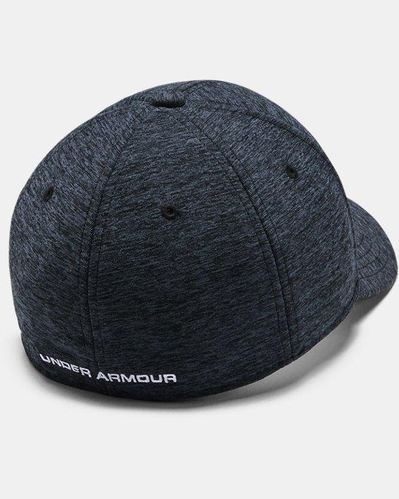 Boys' Armour Twist Cap, Black, pdpMainDesktop image number 1