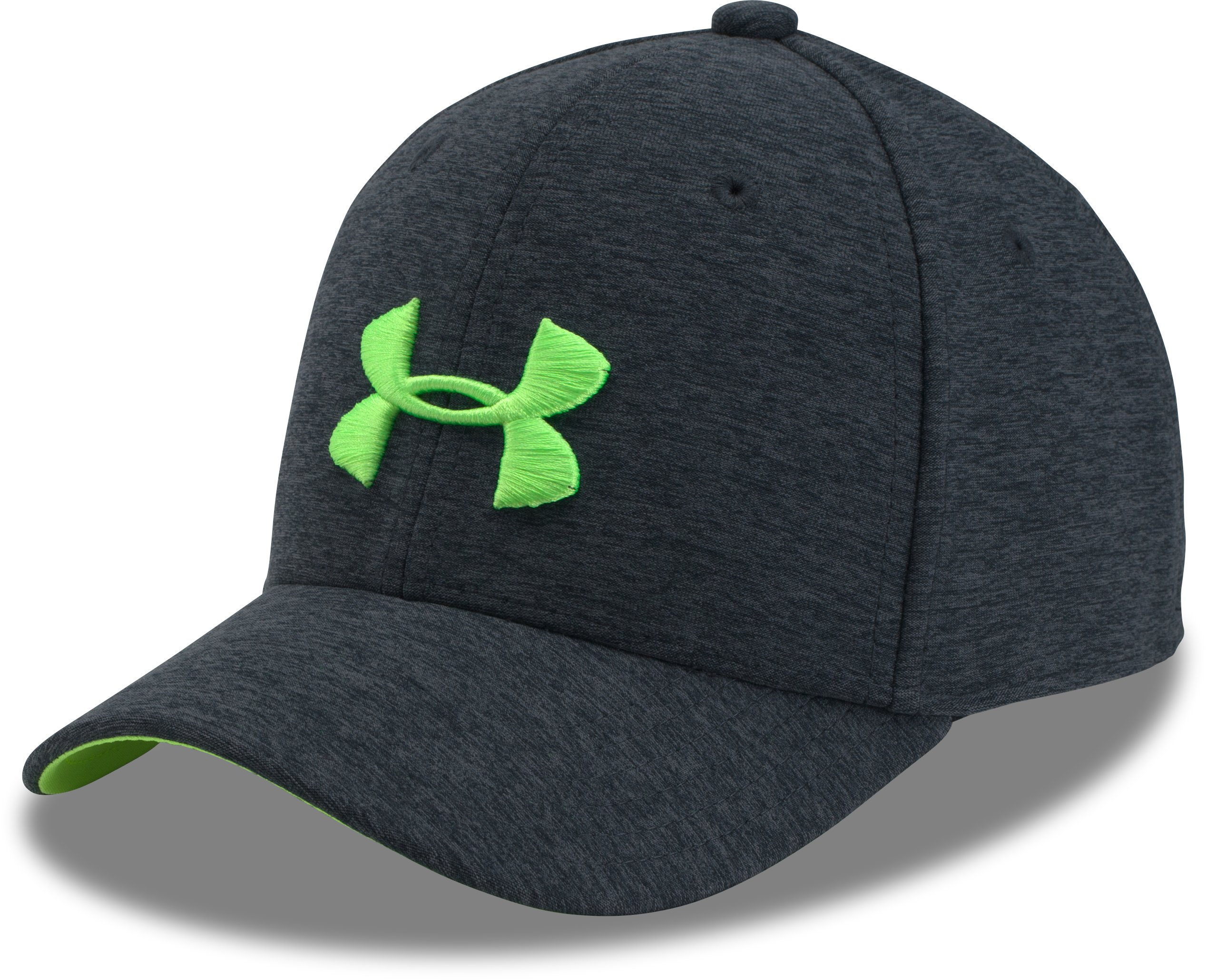 Boys' UA Twist Closer Cap, STEALTH GRAY,