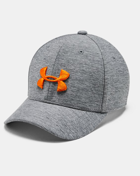 Boys' Armour Twist Cap, Gray, pdpMainDesktop image number 0