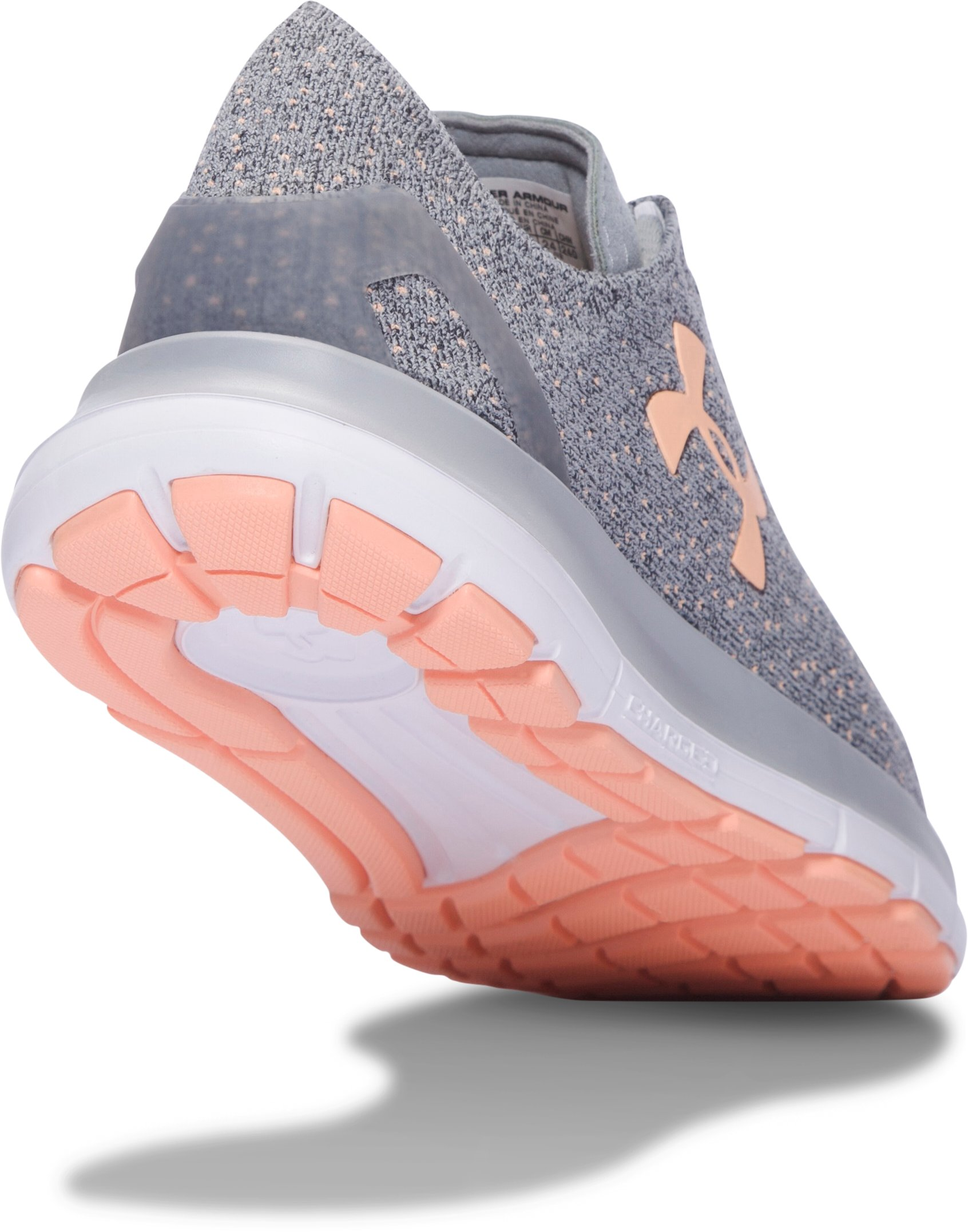 Women's UA SpeedForm® Slingride TRI Running Shoes, OVERCAST GRAY